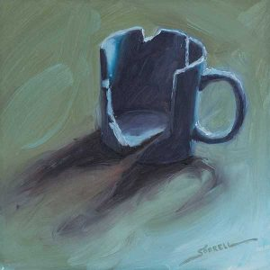 Mugshot Color Study #13 | 6x6 inch | oil on panel
